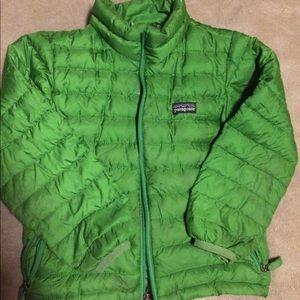 Patagonia goose down jacket